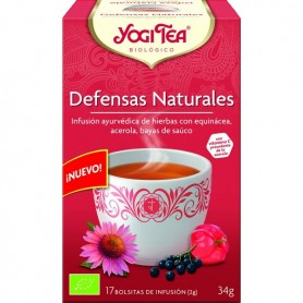 Yogi tea difesa naturale gr.30,6 biologico