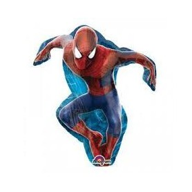 Spiderman palloncino mylar mini shape