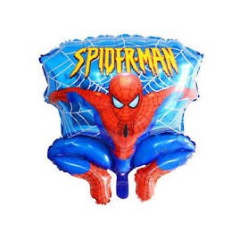 Spiderman palloncino mylar personalizzabile super shape