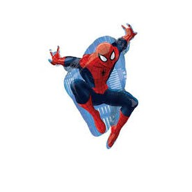 Spiderman palloncino mylar super shape