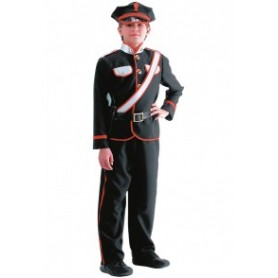 Costume carabiniere tg.v in busta c/ganc