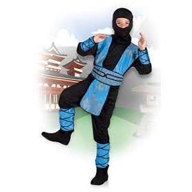 Costume carnevale bimbo kid royal ninja 7-9