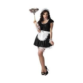 Costume carnevale donna french maid lulu m