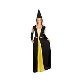 Costume carnevale donna lady isolde m