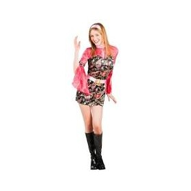 Costume carnevale donna party chick 36-38