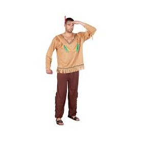 Costume carnevale Uomo indian flying eagle m-l