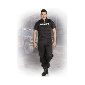 Costume carnevale Uomo swat officer 50-52