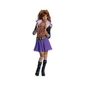 Costume bambina moster high 3-4 anni