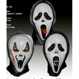 Halloween maschera screaming 3 ass.pz1