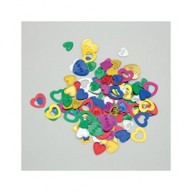 Confetti party cuori multicolor 15 gr