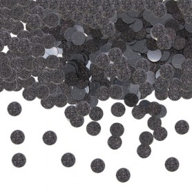 Confetti party glitter nero 20 gr