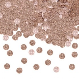 Confetti party glitter rose gold 20 gr
