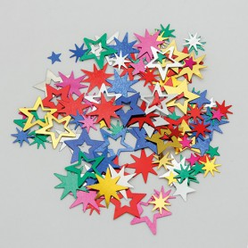 Confetti party stelle assortite multicolor 15 gr