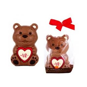 Orsetto love teddy di cioccolata al latte 75 gr 1 pz