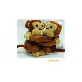 Peluche coppia monkey love 1 pz