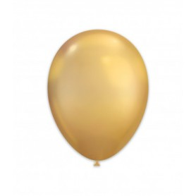 Palloncini lattice chrome gold 50 pz