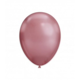 Palloncini lattice chrome pink 50 pz