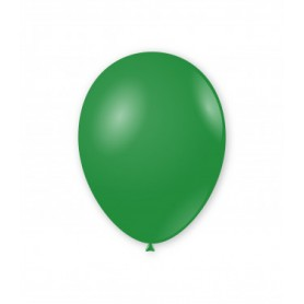 Palloncini lattice tondo verde cm 30 x 12 100 pz