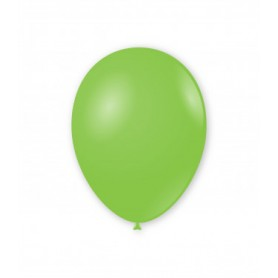 Palloncini lattice tondo verde lime cm 30 x 12 100 pz