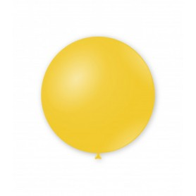 Palloncini lattice tondo giallo 16 pollici  100 pz