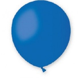 Palloncini lattice tondo blu 13 5 100 pz