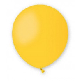 Palloncini lattice tondo giallo 13 5 100pz