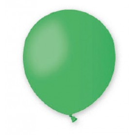 Palloncini lattice tondo verde 13 5 100 pz