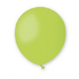 Palloncini lattice tondo verde lime 13 5 100 pz