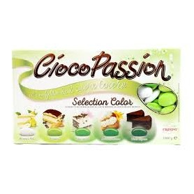 Confetti cioco passion selection color verde 1 kg