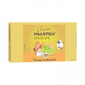Confetti maxtris ginger e lime bianchi 1 kg