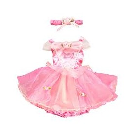 Costume carnevale neonato sleeping beauty 3-6 mesi