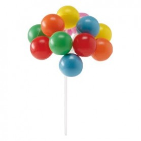 Decorazioni  in plastica palloncini colorati - 1 pz