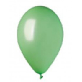Palloncini lattice chrome green 50 pz